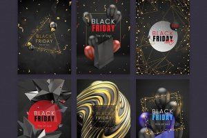 6 Black Friday Posters