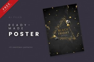 Black Friday Free Poster 02