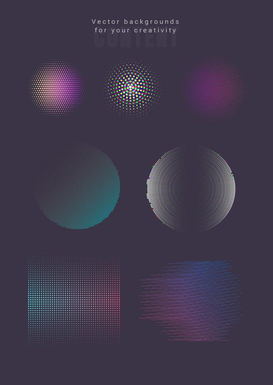 3D Suprematism Vector Backgrounds 2