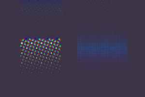 3D Suprematism Vector Backgrounds