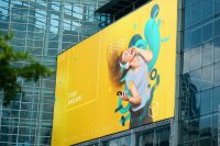 Using 3D Suprematism on Billboard