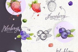 Berry - design elements