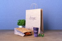 Berry - Example on Bag, coffe cup