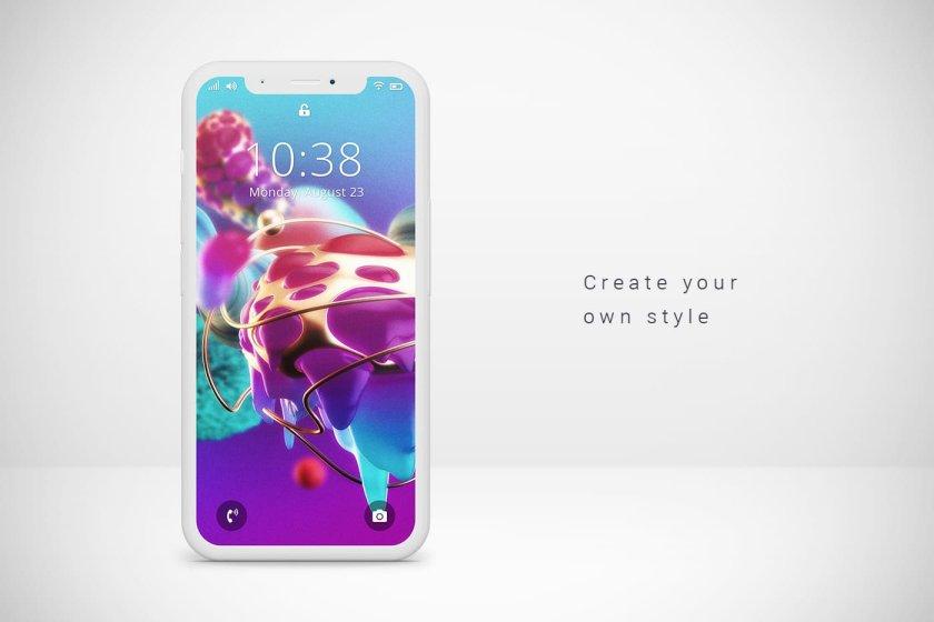Focus. Example on smartphone