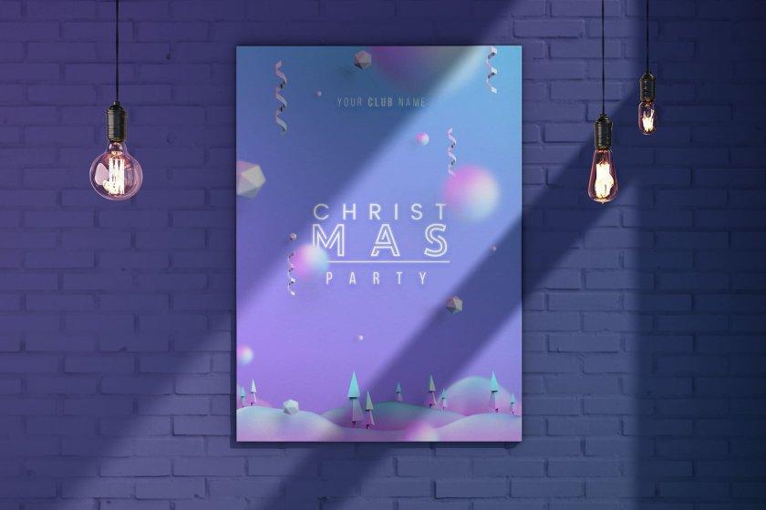 Christmas Poster Free 02
