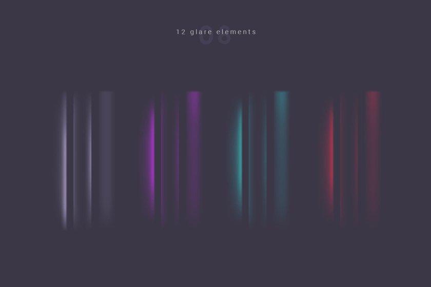 12 Glare Elements