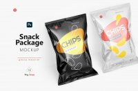 Tilted Glossy Snack Package cover