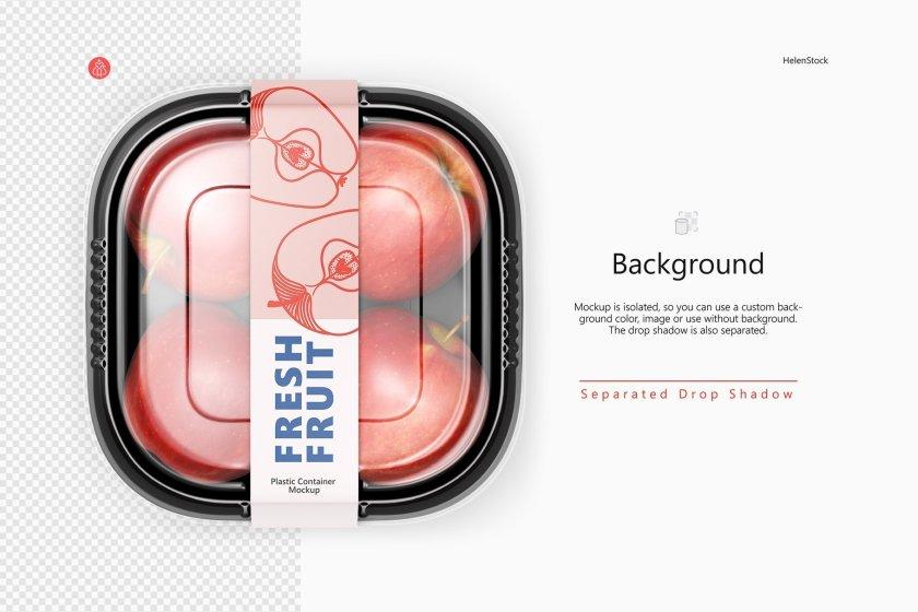 Preview mock up on Transparent Background
