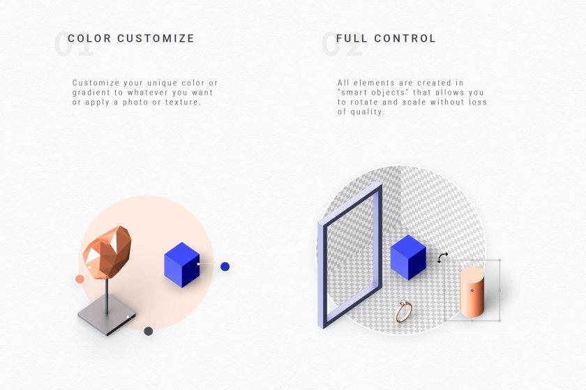 Creative Graphic Set