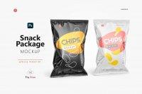 lossy Snack Package Mockup
