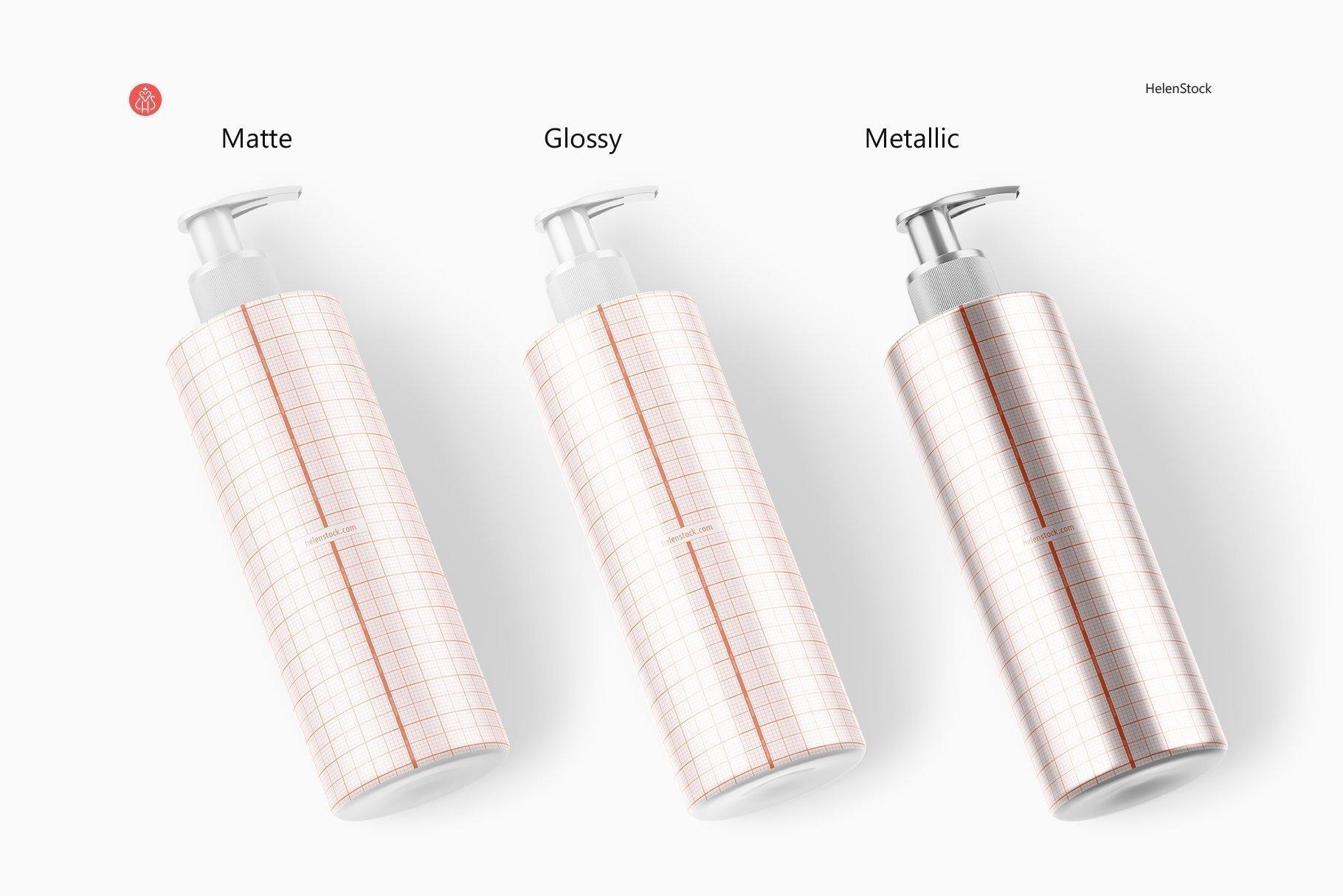 Preview Wrap Soap Plastic Bottle