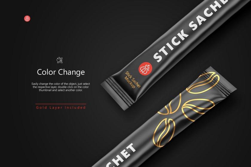 Stick Sachet Color Features