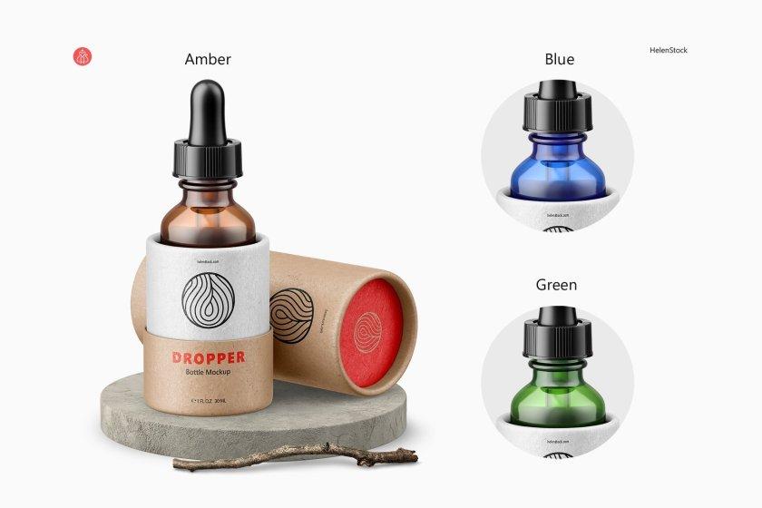 Dropper Bottle Glass Features